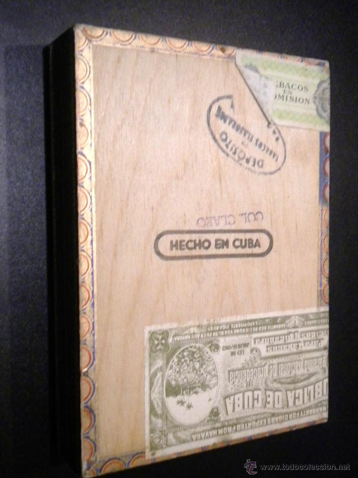 Cajas de Puros: Caja de puros / Fabrica de tabacos martinez y ca. / habana cuba / 25 universales - Foto 3 - 53790421