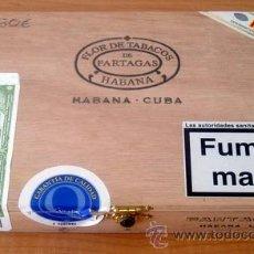 Cajas de Puros: CAJA VACIA DE PUROS PARTAGÁS Nº. 4. Lote 213926485