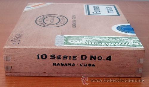 Cajas de Puros: CAJA VACIA DE PUROS PARTAGÁS Nº. 4 - Foto 8 - 213926485