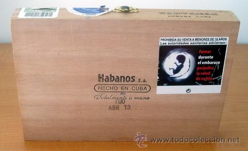 Cajas de Puros: CAJA VACIA DE PUROS PARTAGÁS Nº. 4 - Foto 9 - 213926485