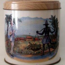 Cajas de Puros: BOTE METÁLICO VACIO DE PUROS FARIAS. Lote 54603593