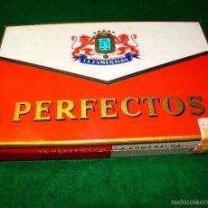 Cajas de Puros: CAJA DE PUROS LA ESMERALDA PERFECTOS. Lote 56486187