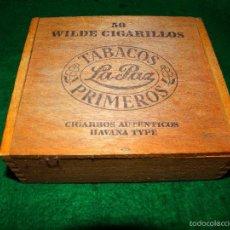 Cajas de Puros: CAJA DE PUROS TABACOS LA PAZ PRIMEROS . Lote 56486243