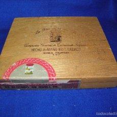 Cajas de Puros: CAJA DE PUROS LA FLOR DE LA ISABELA. Lote 56486536