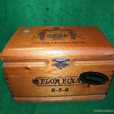 Cajas de Puros: CAJA DE PUROS FLOR FINA - A. FUENTE. Lote 56657192