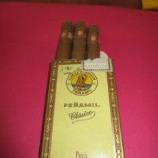 Cajas de Puros: PUROS PEÑAMIL CLASIC- (3 PUROS SIN USAR)- CAJA NUEVA. Lote 135161105