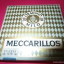 Cajas de Puros: CAJETILLA CIGARRITOS PUROS MECCARILLOS (SIN ABRIR). Lote 56673585