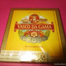 Cajas de Puros: CAJETILLA CIGARRITOS PUROS VASCO DA GAMA(SIN ABRIR). Lote 56673615