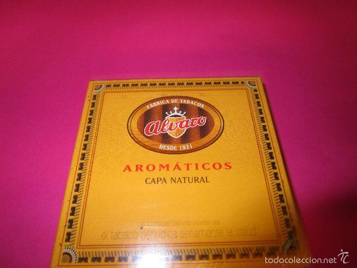 CAJETILLA CIGARRITOS PUROS ALVARO AROMATICOS(SIN ABRIR) (Coleccionismo - Objetos para Fumar - Cajas de Puros)