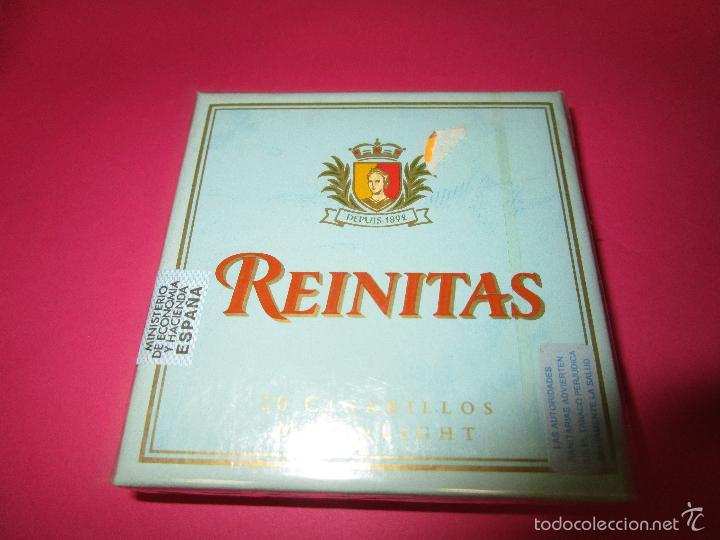 CAJETILLA CIGARRITOS PUROS REINITAS(SIN ABRIR) (Coleccionismo - Objetos para Fumar - Cajas de Puros)