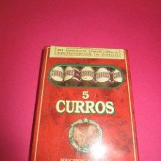 Cajas de Puros: PETACA PUROS CURROS. Lote 56673799