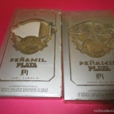 Cajas de Puros: LOTE 7 PUROS PEÑAMIL PLATA Nº1. Lote 70406743