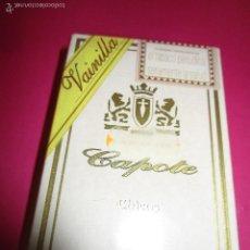 Cajas de Puros: PETACA PUROS CAPOTE (SIN ABRIR). Lote 56673850