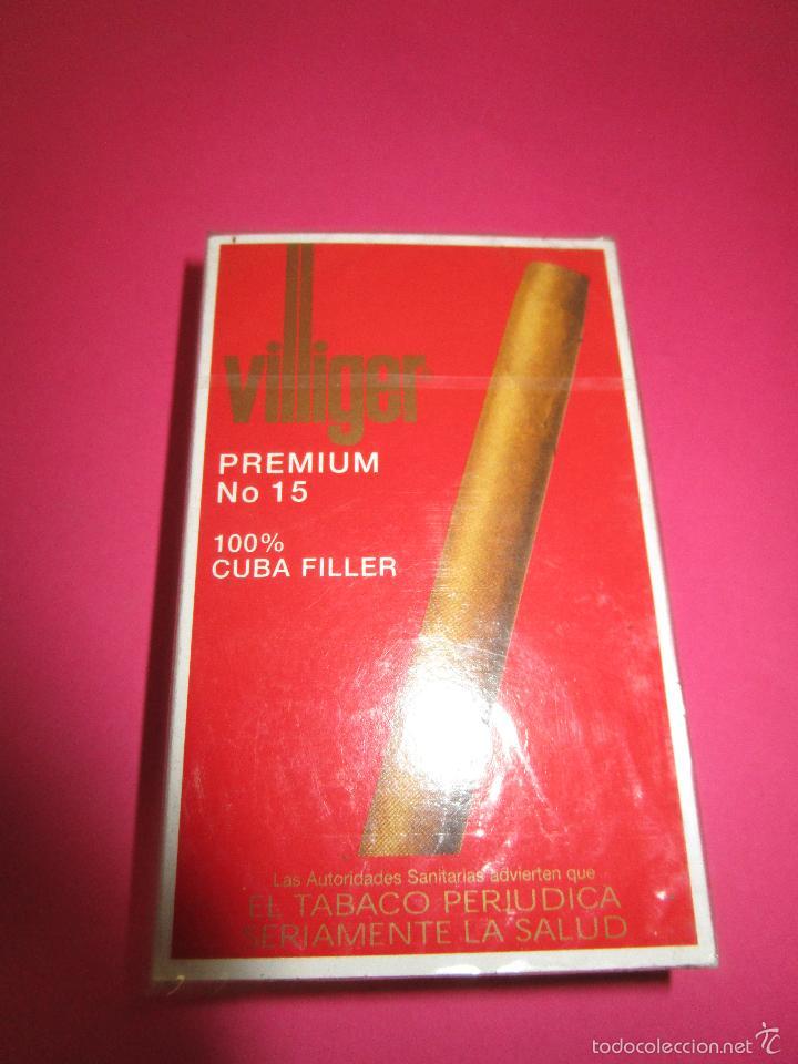 CAJETILLA CIGARRITOS PUROS VILLIGER(SIN ABRIR) (Coleccionismo - Objetos para Fumar - Cajas de Puros)