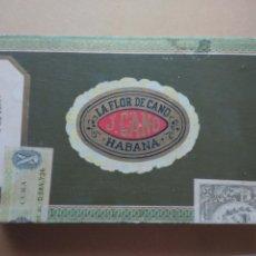 Cajas de Puros: CAJA PUROS LA FLOR DE CANO 1973. Lote 57093634