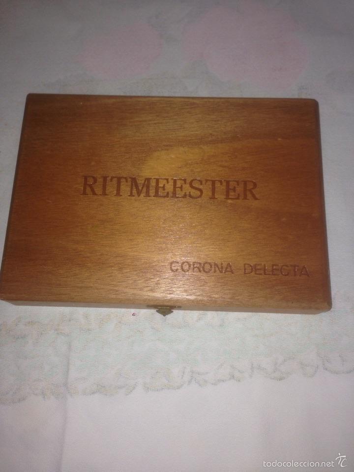Cajas de Puros: Caja de puros ritmeester corona delecta - Foto 2 - 57135292