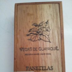 Cajas de Puros: CAJA DE PUROS VEGA DE GUAYAQUIL. Lote 75506571