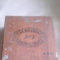 Cajas de Puros: CAJA DE PUROS LA BELLEZA Nº 2. Lote 57708095