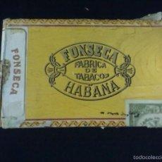 Cajas de Puros: FONSECA HABANA CAJA PUROS. Lote 57846220