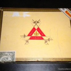 Cajas de Puros: CAJA DE PUROS / MONTECRISTO HABANA / Nº 3 / CABINET SELECTION . Lote 57910661
