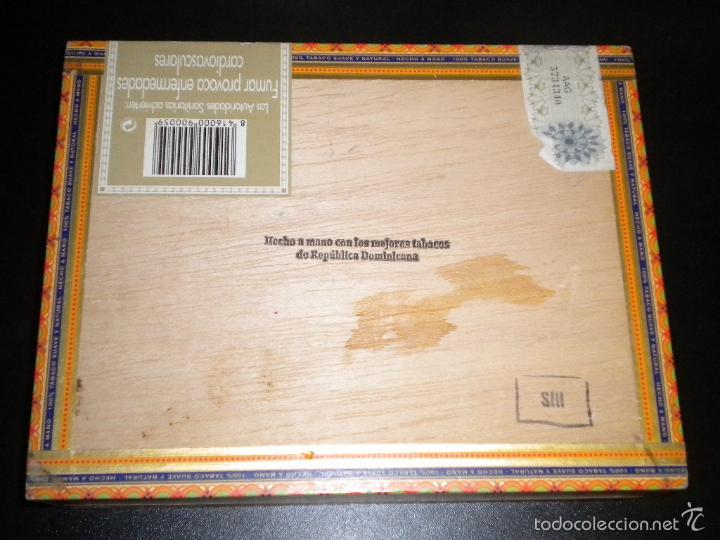 Cajas de Puros: caja de puros / vegafina / 25 cervantes hecho a mano - Foto 2 - 57910795