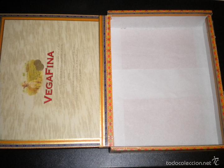 Cajas de Puros: caja de puros / vegafina / 25 cervantes hecho a mano - Foto 3 - 57910795