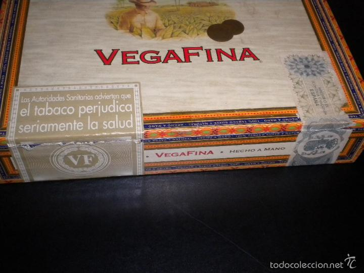 Cajas de Puros: caja de puros / vegafina / 25 cervantes hecho a mano - Foto 4 - 57910795