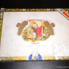 Cajas de Puros: CAJA DE PUROS / ROMEO Y JULIETA / HABANA / 10 ROMEO Nº 1 TUBOS DE ALUMINIO. Lote 57910928