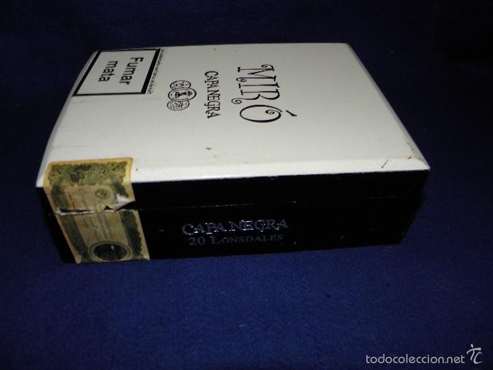 Cajas de Puros: CAJA DE PUROS CAPA NEGRA DE MIRÓ - Foto 2 - 57994302