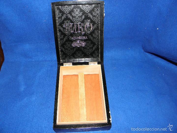 Cajas de Puros: CAJA DE PUROS CAPA NEGRA DE MIRÓ - Foto 3 - 57994302