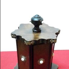 Cajas de Puros: CIGARRERA, CAJA TABACO, CIGARROS , PUROS, S XIX.. Lote 58136562