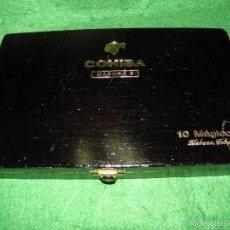 Cajas de Puros: CAJA DE PUROS COHIBA MADURO 5 10 MAGICOS. Lote 58752516