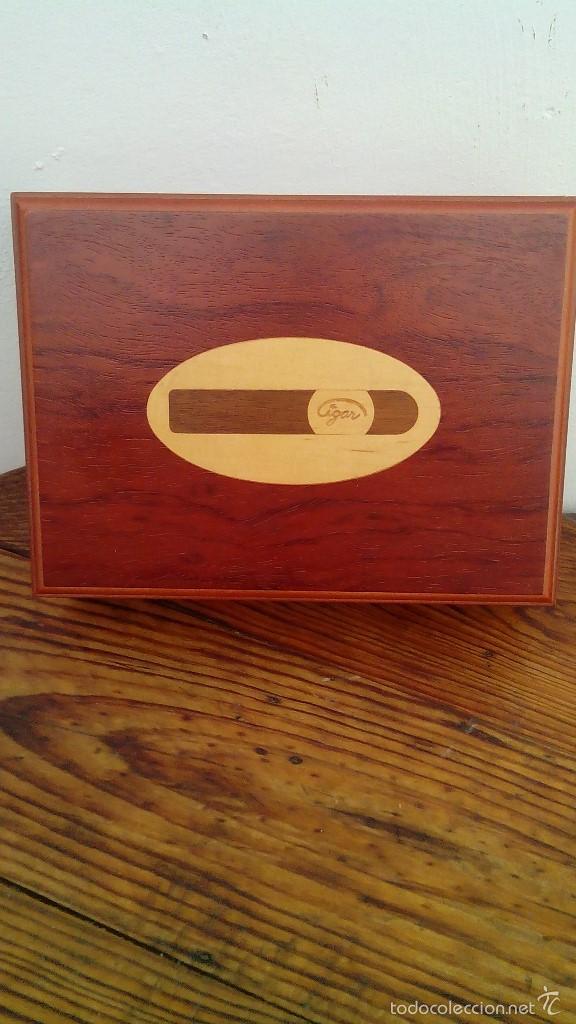 CAJA PARA PUROS (Coleccionismo - Objetos para Fumar - Cajas de Puros)