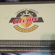Cajas de Puros: CAJA PUROS ÁLVARO CANARIAS VACÍA. Lote 59679792