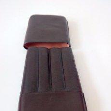 Cajas de Puros: FUNDA PUROS - PURERA PARA 4 PUROS POLIPIEL AÑOS 60 CASI NUEVA. Lote 60719983