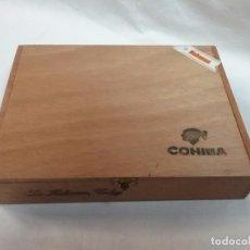 Cajas de Puros: CAJA MADERA VACIA DE PUROS COHIBA - 25 ESPLENDIDOS - HABANA , CUBA . Lote 62698076