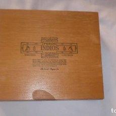 Cajas de Puros: CAJA DE PUROS VACIA PUROS INDIOS MADE IN HONDURAS. Lote 63926595