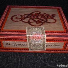 Cajas de Puros: CAJA PUROS CAJAS CARTON FARIAS SUPERIORES 25 - 15 X12 X 5 CM TABACALERA 100X100. Lote 135881951