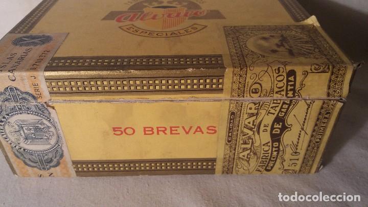 Cajas de Puros: CAJA CAJITA EN MADERA DE TABACO PURO PUROS ALVARO. - Foto 2 - 66776110