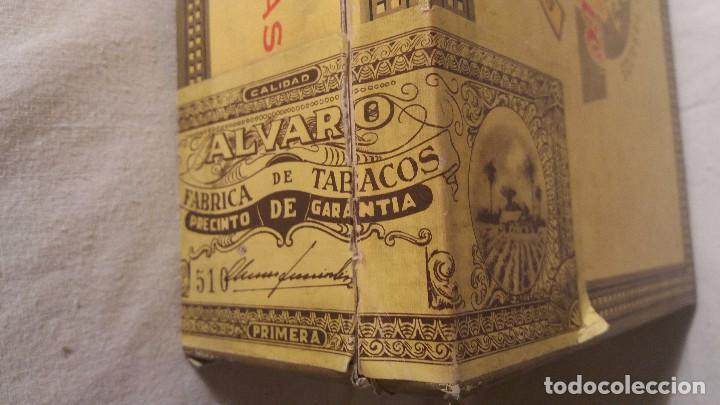 Cajas de Puros: CAJA CAJITA EN MADERA DE TABACO PURO PUROS ALVARO. - Foto 4 - 66776110