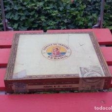 Cajas de Puros: CAJA VACIA DE MADERA DE PUROS HABANOS. PEÑAMIL Nº 25 . CIGARROS, TABACO, HABANOS. Lote 67455625