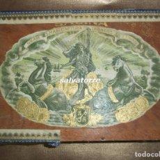 Cajas de Puros: GRAN MANUFACTURAS DE TABACOS FINOS SABINA.PETIT CETROS.CLARO.CAJA PUROS HABANOS MUY DIFICIL.CANARIAS. Lote 101871815