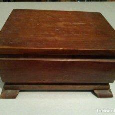 Cajas de Puros: CAJA DE PUROS EN MADERA DE OLIVO MUY BONITA. Lote 70419857