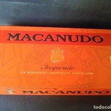 Cajas de Puros: CAJA PUROS MADERA MACANUDO INSPIRADO 10 DIPLOMÁTICO . Lote 75304631