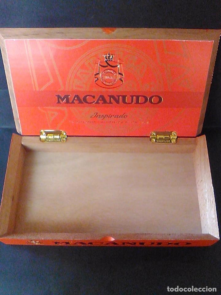 Cajas de Puros: Caja puros madera Macanudo Inspirado 10 diplomático - Foto 2 - 75304631