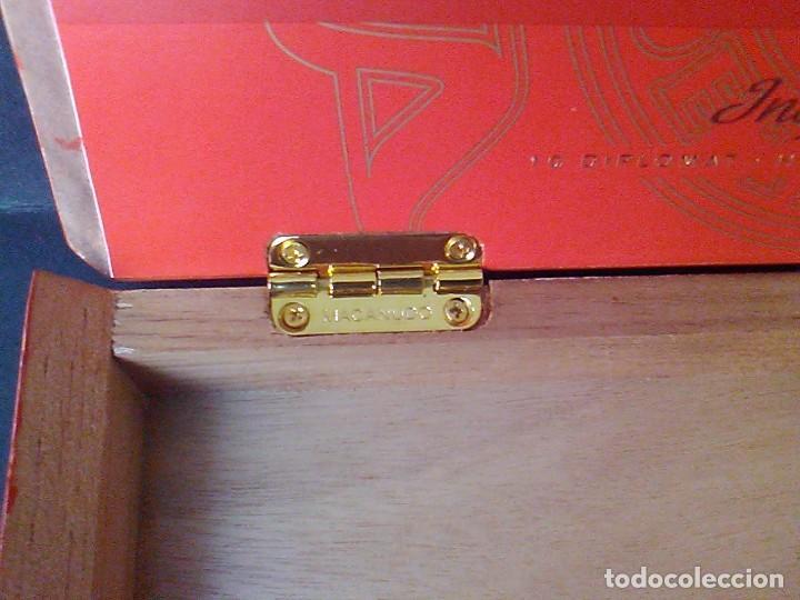 Cajas de Puros: Caja puros madera Macanudo Inspirado 10 diplomático - Foto 3 - 75304631