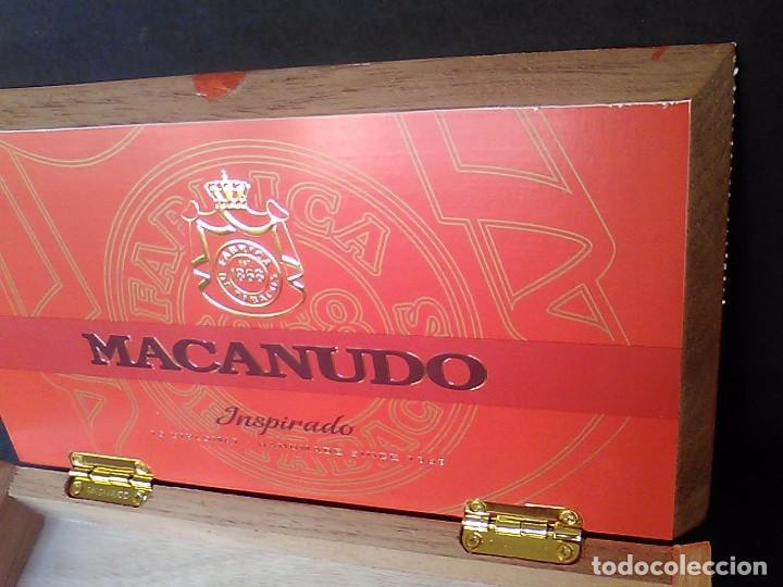 Cajas de Puros: Caja puros madera Macanudo Inspirado 10 diplomático - Foto 4 - 75304631