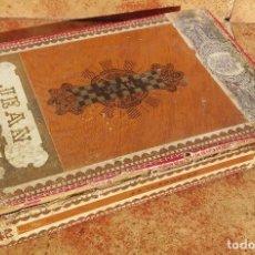 Scatole di Sigari: CAJA DE MADERA PARA PUROS. JEAN.. Lote 75915015