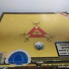Cajas de Puros: CAJA DE MADERA PUROS MONTE CRISTO HABANA TUBOS. Lote 76534981