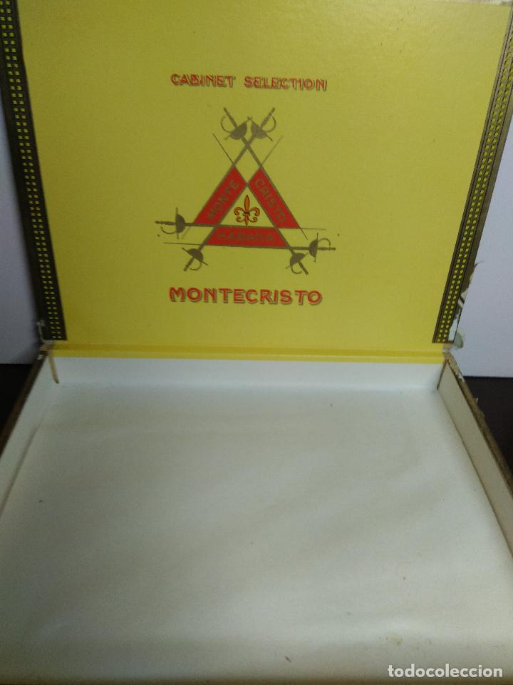 Cajas de Puros: CAJA DE MADERA PUROS MONTE CRISTO HABANA TUBOS - Foto 2 - 76534981